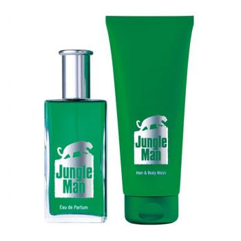 LR Jungle Man parfémovaná série I (s vlasovým a tělovým šamponem)