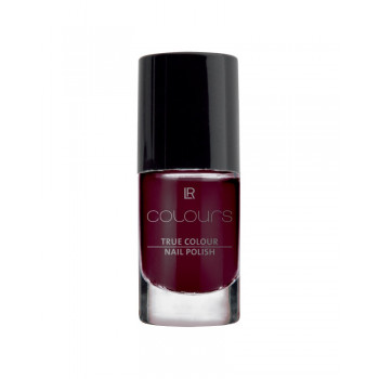 LR lak na nehty True Colour odstín Black Cherry 5,5 ml