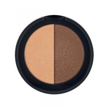 LR Colours Minerální oční stíny Duo (odstín Cashmere & Copper) 2 x 1,25 g