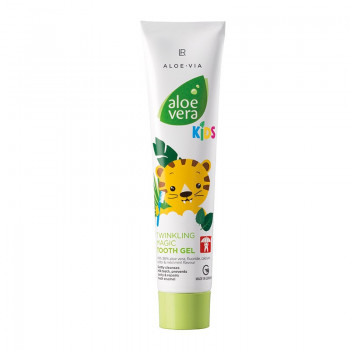 LR Aloe Vera Jungle Friends Magicky třpytivý zubní gel 50 ml